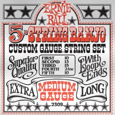 Struny do banjo Ernie Ball EB 2309