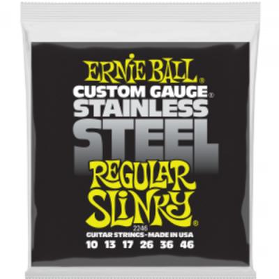 Struny do gitary elektrycznej Ernie Ball EB 2246 10-46