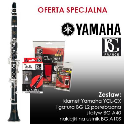 Klarnet Yamaha YCL-CX - ZESTAW