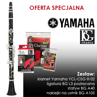 Klarnet Yamaha YCL-CSG III 02 - OFERTA SPECJALNA