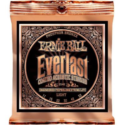 Struny do gitary akustycznej Ernie Ball EB 2548 11-52
