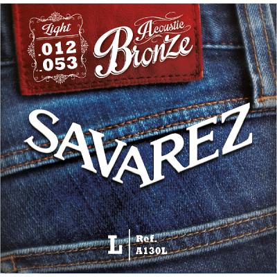 Struny do gitary akustycznej Savarez SA A130 L 12-53