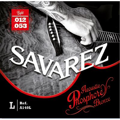 Struny do gitary akustycznej Savarez SA A140 L 12-53