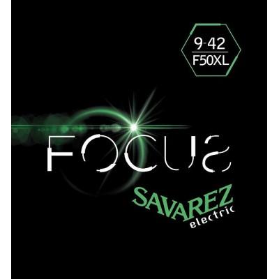Struny do gitary elektrycznej Savarez SA F50 XL 09-42