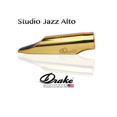 Ustnik do saksofonu altowego Drake Studio Jazz Metal Gold Plated SJM GP 8