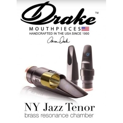Ustnik do saksofonu tenorowego Drake Brass Chamber New York Jazz Tenor BCNYJT 7